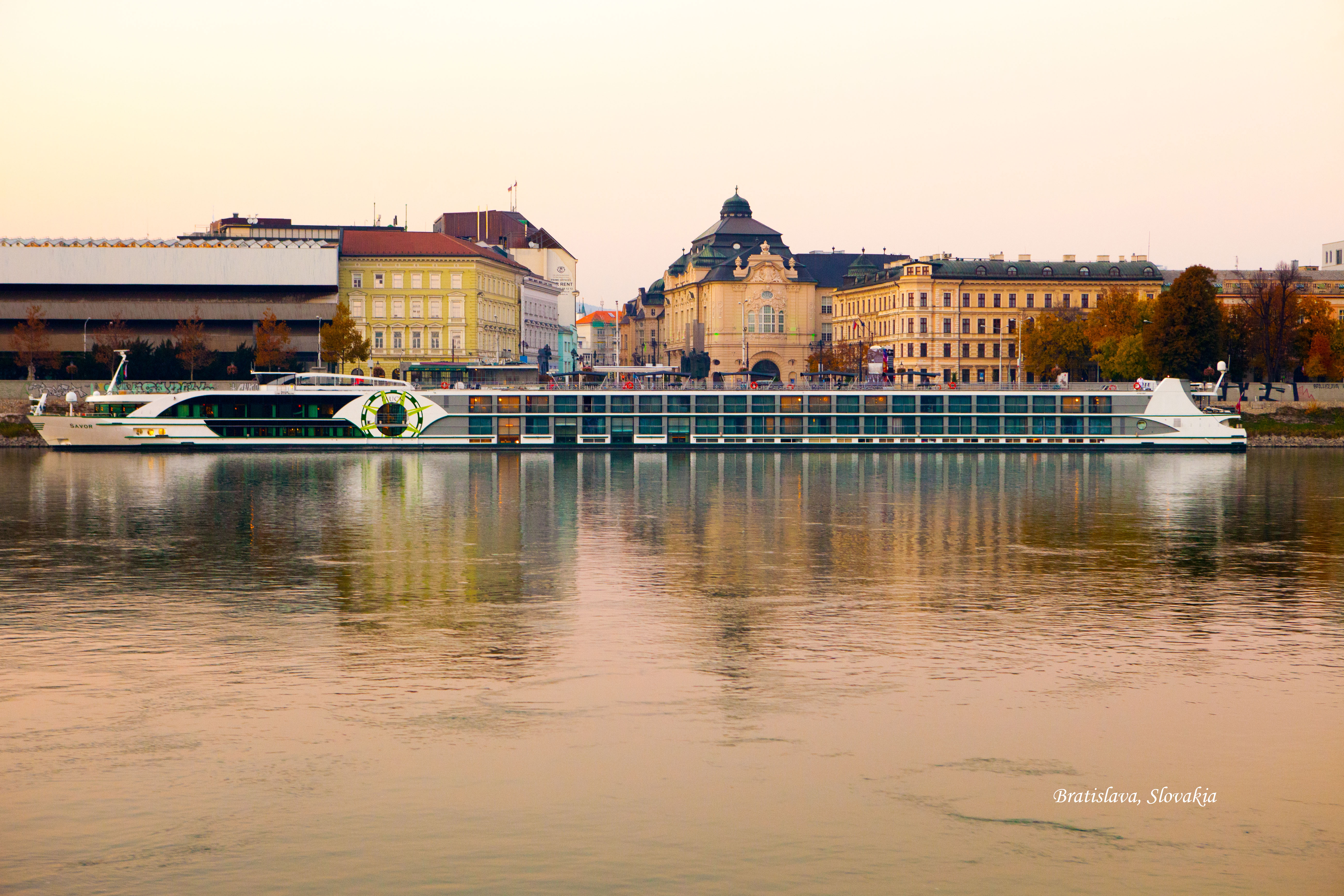 """continuing on """"the danube riverboat trip"""" —from budapest to"""